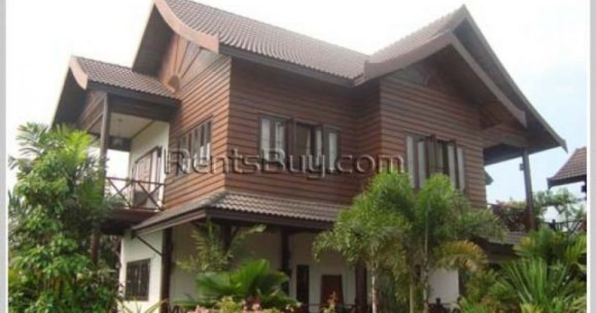 4 bed house for rent in sisattanak vientiane 2 000 for Rent a house la