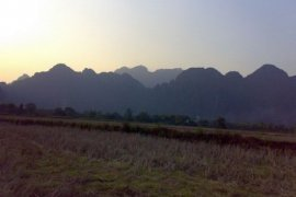 Land for rent in Vangvieng, Vientiane