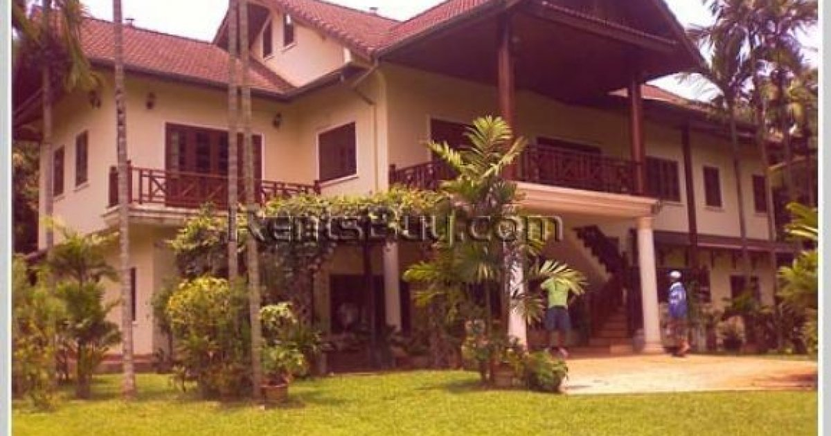 8 bed house for rent in chanthabuly vientiane 3 500 for Rent a house la