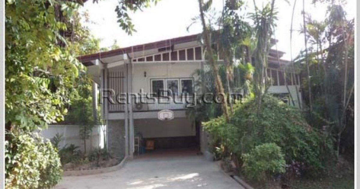 5 bed house for rent in sisattanak vientiane 1 300 for Rent a house la
