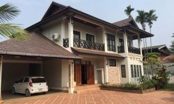 3 bedroom house for rent in Sisattanak, Vientiane