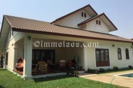 4 Bedroom House for rent in Saphangmo, Vientiane