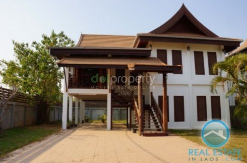 Lao House Style Built In Luxury Condition �� House For Rent In Vientiane Dot Property