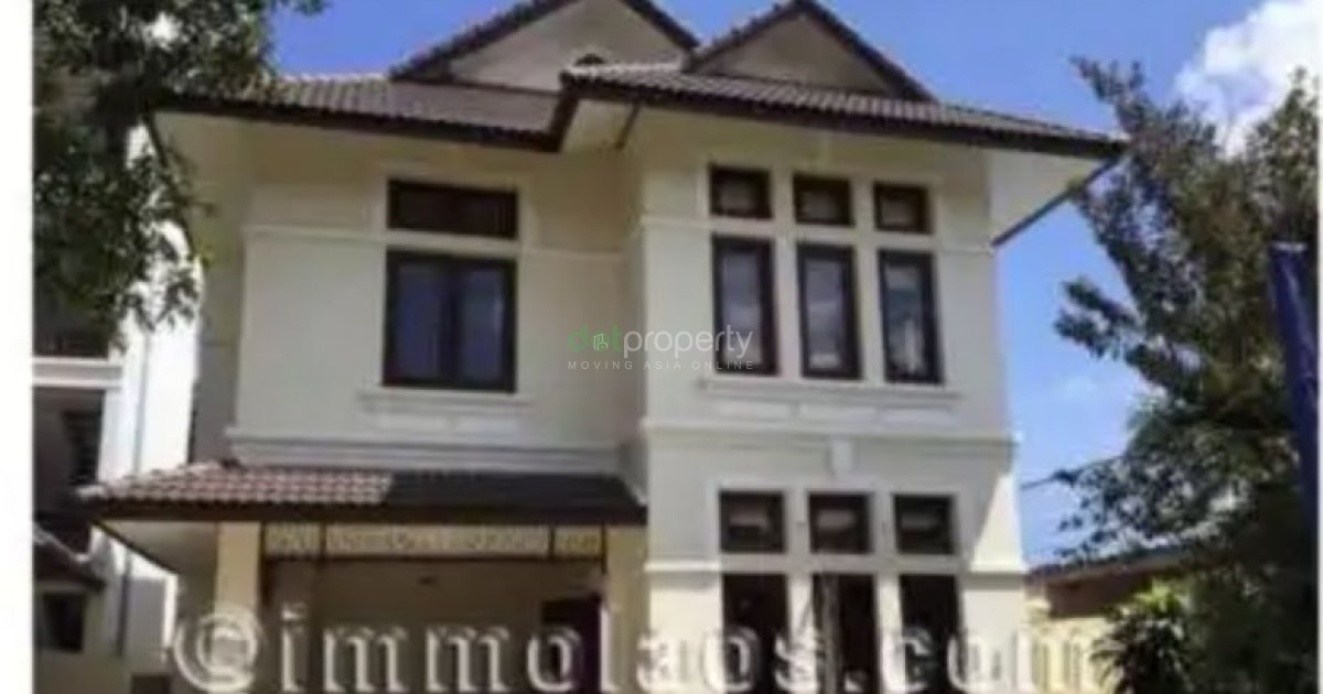 three bedroom houses for rent modern house for rent to mekong river in vientiane 19960